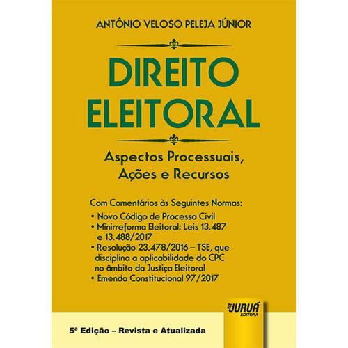 Direito Eleitoral - 5ª Edição (2018)