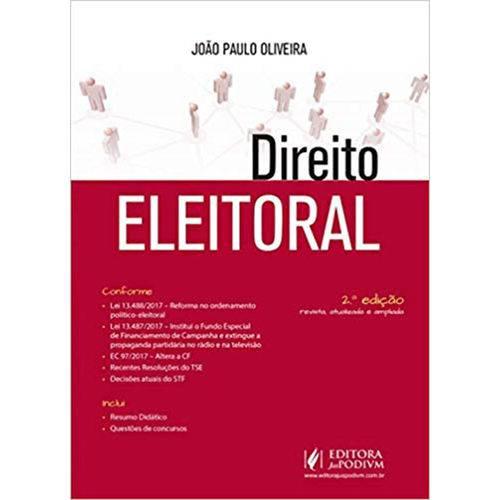 Direito Eleitoral - 2ª Edição (2018)