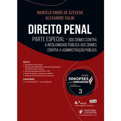 Direito Penal - Parte Especial (2018) - Volume 3
