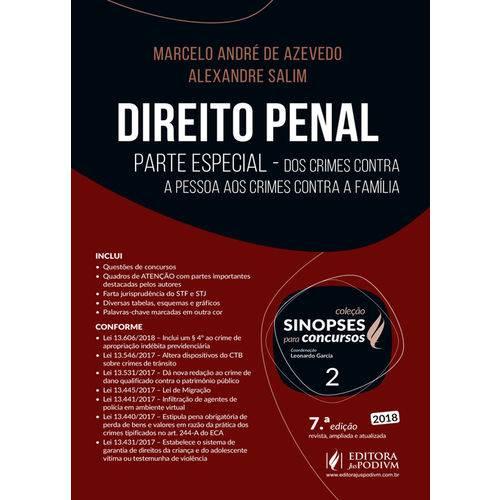 Direito Penal - Parte Especial (2018) - Volume 2