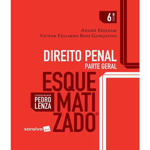 Direito Penal Parte Geral - Esquematizado - 06 Ed