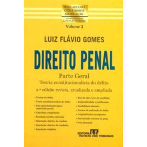 Direito Penal Parte Geral - Vol 3 - Rt