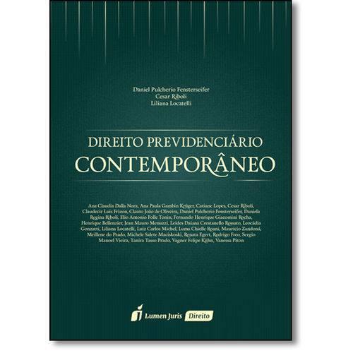 Direito Previdenciário Contemporâneo