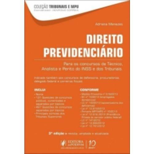 Direito Previdenciario - Juspodivm - 3 Ed
