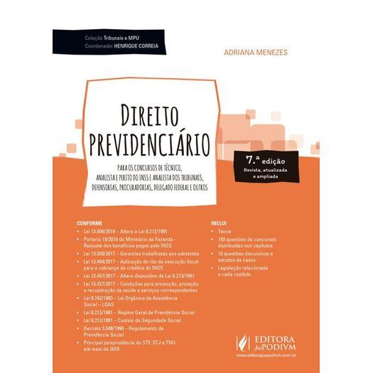 Direito Previdenciario - Juspodivm