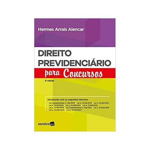 Direito Previdenciário para Concursos 5ªed. - Saraiva