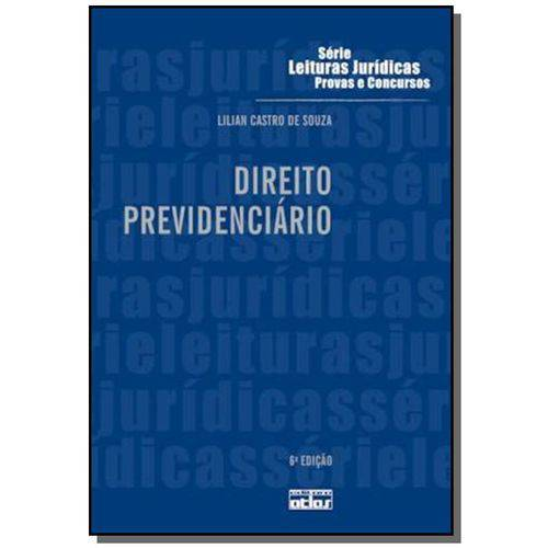 Direito Previdenciario - Vol.27 - Serie Leituras J