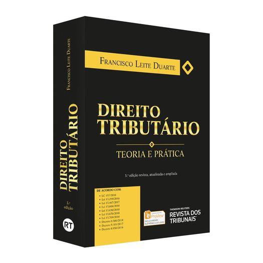 Direito Tributario - Teoria e Pratica - Rt