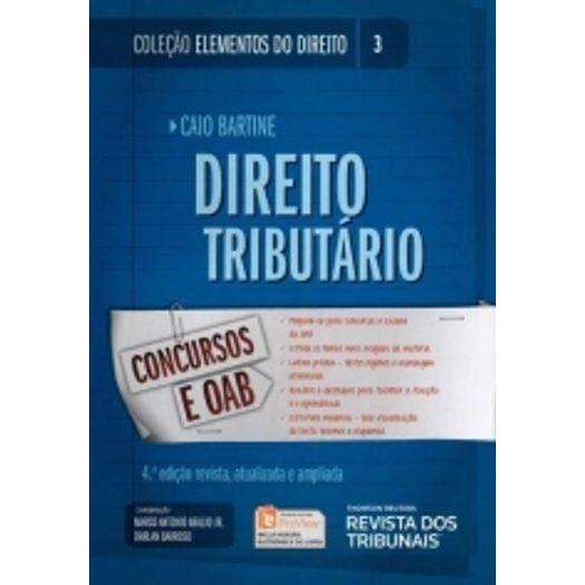 Direito Tributario - Vol 3 - Rt