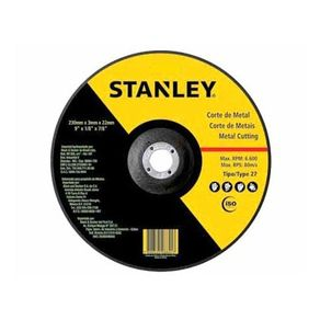 "Disco Abrasivo de Corte para Metal 7"" - STA0411F Stanley"