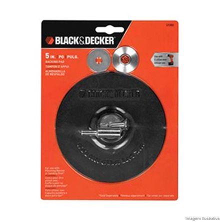 Disco de Borracha 5 com Adaptador Metálico U1302 Black Decker