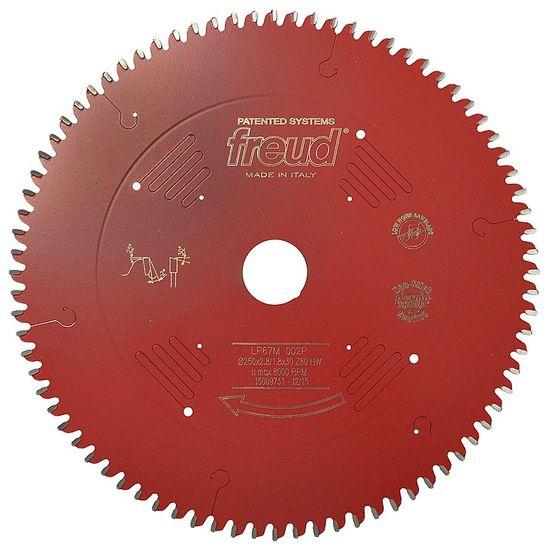 """Disco de Serra 250mm 10"""" 80 Dentes para MDF REVESTIDO - LP67M-002 - Freud"""