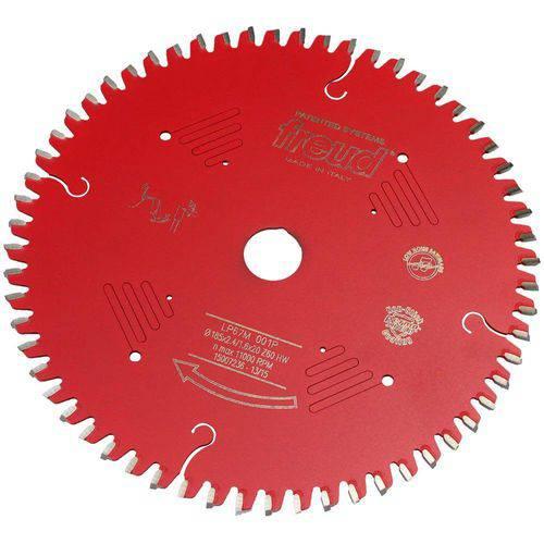 Disco de Serra Circular para Madeira 185mm X 20mm X 60 Dentes Freud-Lp67m-001p