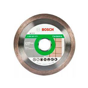 Disco Diamantado 105mm Ceramic Liso Std Bosch