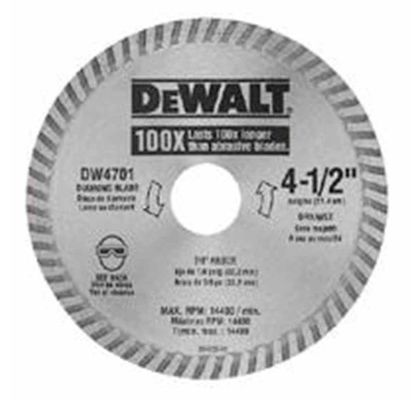 "Disco Diamantado 4"" para Serra Mármore Dewalt DW47402B DW47402B"