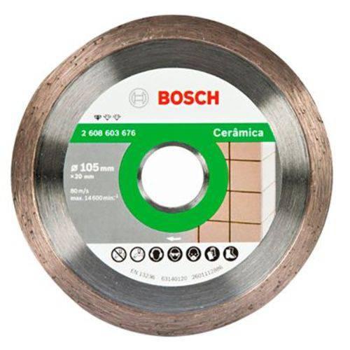 Disco Diamantado Liso Bosch para Cerâmica 105mm
