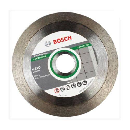 Disco Diamantado para Porcelanato Bosch 110mm