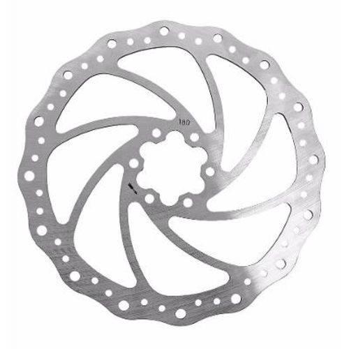 Disco Rotor Winzip 180mm Ondulado Mtb Xc Bike 6 Furos