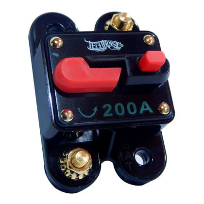Disjuntor Automotivo 200A Technoise Dynamic - Resetável