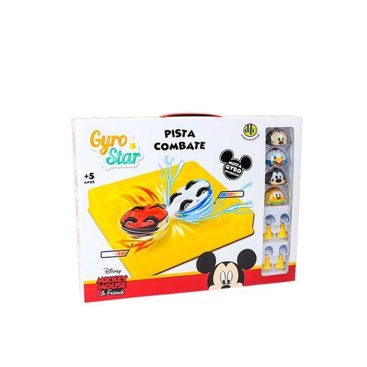 Disney/Pixar Gyro Star Pista de Combate Mickey e Amigos - DTC