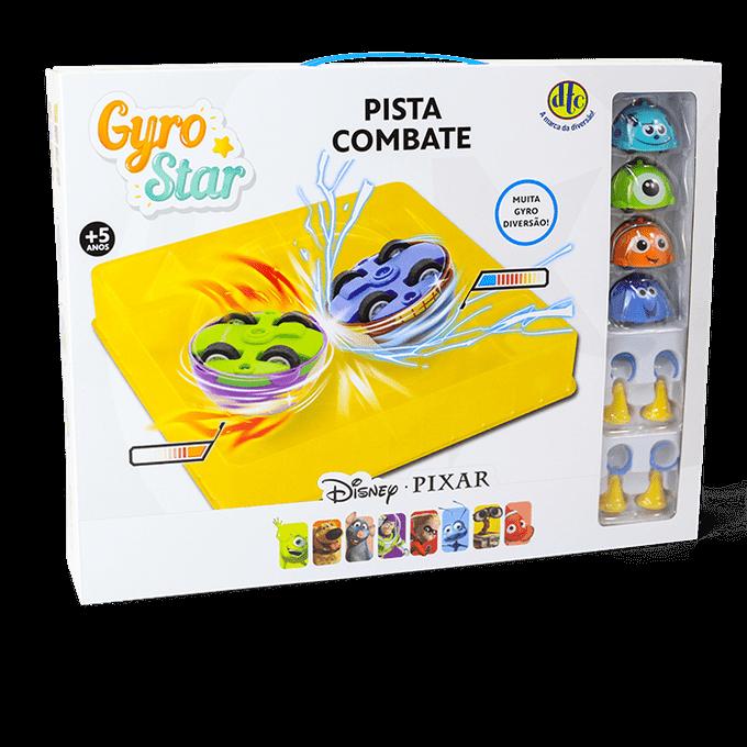 Disney/pixar - Pista Combate Gyro Star - Dtc - DTC