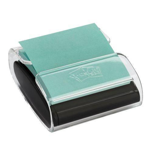 Dispensador Pop-Up 3M Transparente/Branco + Bloco 76mmx76mm Verde