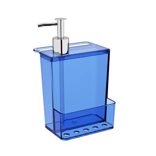 Dispenser Multi Glass 600 Ml Azul Coza