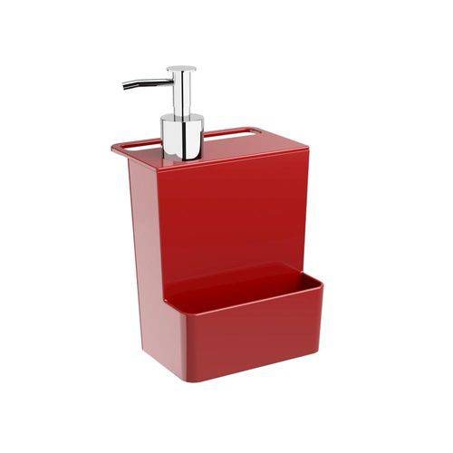 Dispenser Multi Glass 600 Ml Vermelho Bold - Coza