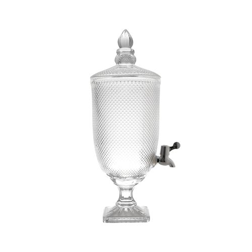 Dispenser para Bebidas em Cristal Lyor Bico de Jaca 4,4 Litros