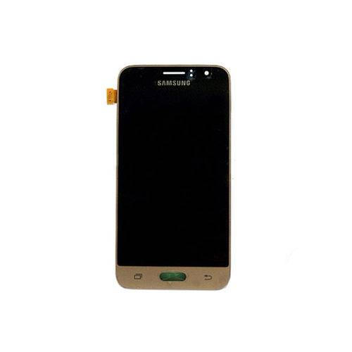 Display LCD Tela Touch Samsung Galaxy J1 J120 2016 Dourado