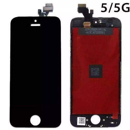 Display LCD Touch IPhone 5G Preto