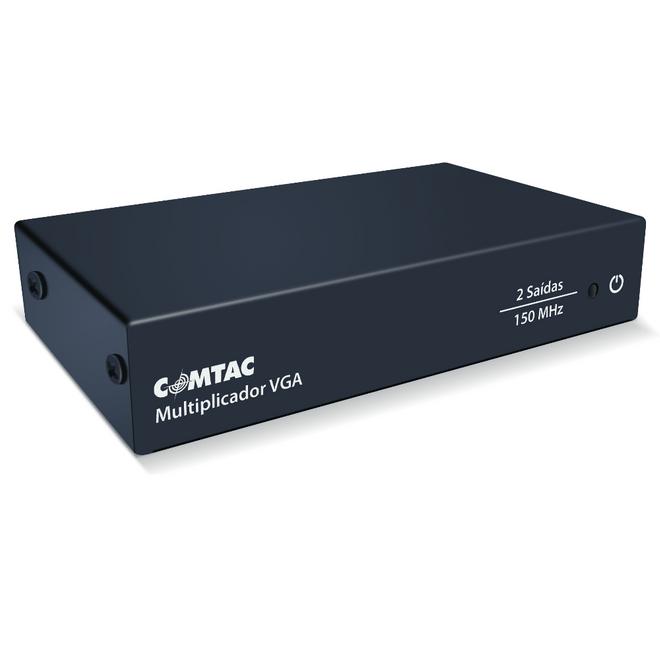 Distribuidor de Sinal VGA E-1X2S MOD102V 9216 - Comtac