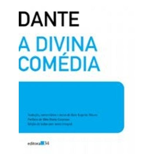 Divina Comedia, a - Edicao de Bolso - Ed 34