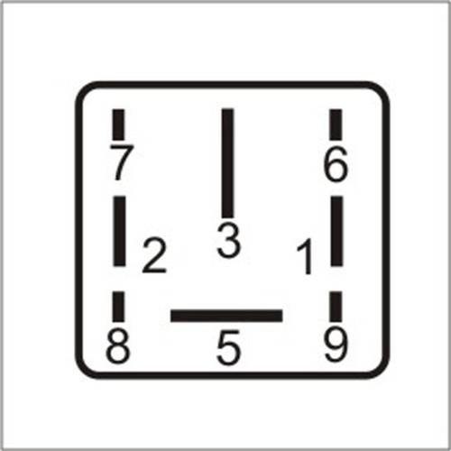 Dni0132 - Relé Módulo de Controle de Velocidade