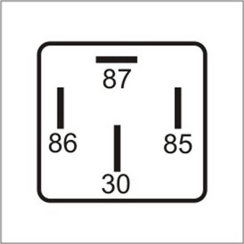 Dni0102 - Relé Auxiliar Universal, Ventilador do Radiador, Antena Elétrica, Ar Condicionado, Vidro e