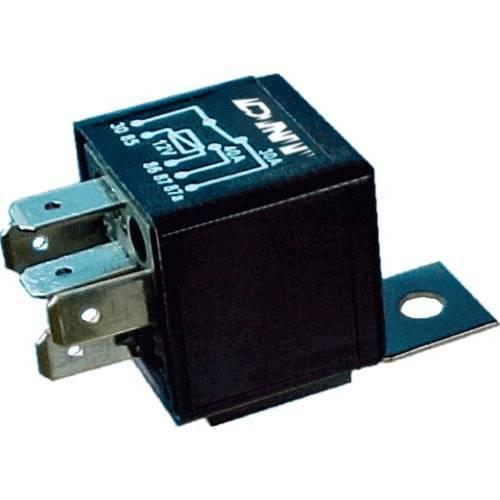 Dni0140 - Relé Auxiliar Universal Reversor, Calefação, Computador de Bordo, Ar Condicionado, Antena