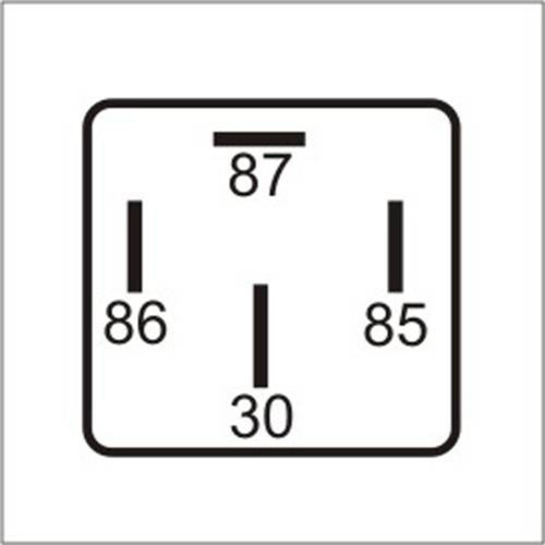 Dni0145 - Relé do Ar Condicionado, Eletroventilador, Injeção Eletrônica