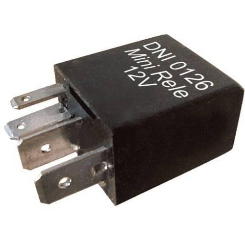 Dni0126 - Míni Relé Auxiliar Reversor, Ventilador, Ar Condicionado, Medidor de Vazão de Combustível