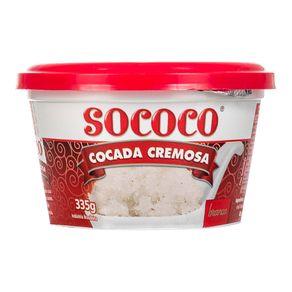 Doce de Coco Cremoso Sococo 335g
