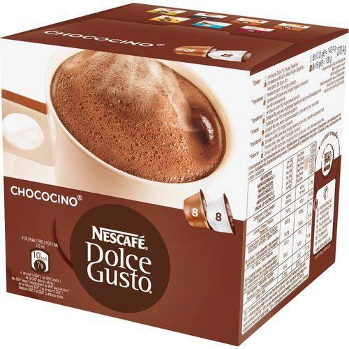Dolce Gusto Chococino 270g C/ 16 Cápsulas (8 Chocolate + 8 Leite ) - Nescafé