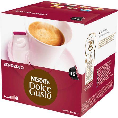 Dolce Gusto Espresso 96g C/ 16 Cápsulas - Nescafé