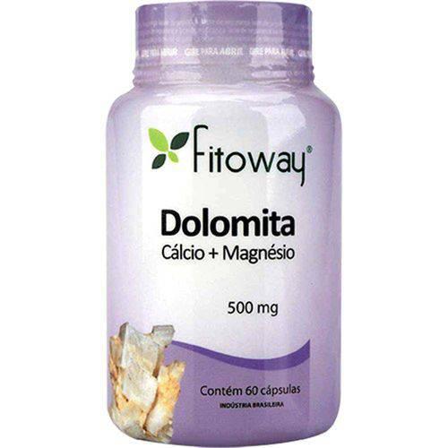 Dolomita Fitoway 500mg 60 Cápsulas