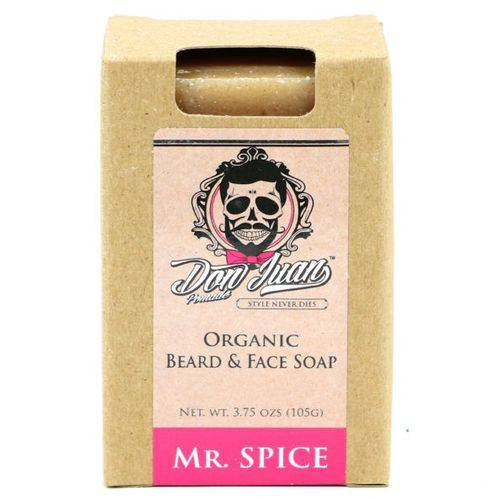 Don Juan Mr. Spice - Sabonete Orgânico para Barba 105g