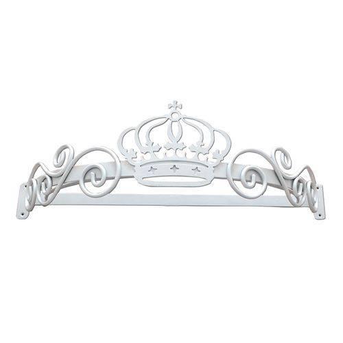 Dossel Coroa Arabesco Babykinha Branco