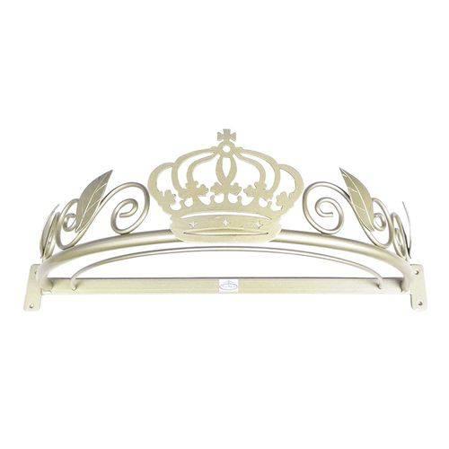 Dossel Coroa Arabesco Folha Babykinha Dourado