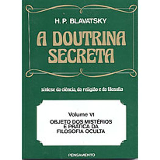 Doutrina Secreta, a - Vol 6 - Pensamento