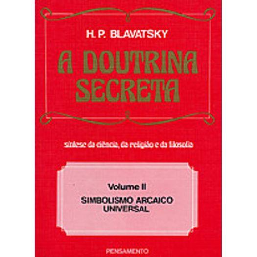 Doutrina Secreta, a - Vol 2 - Pensamento
