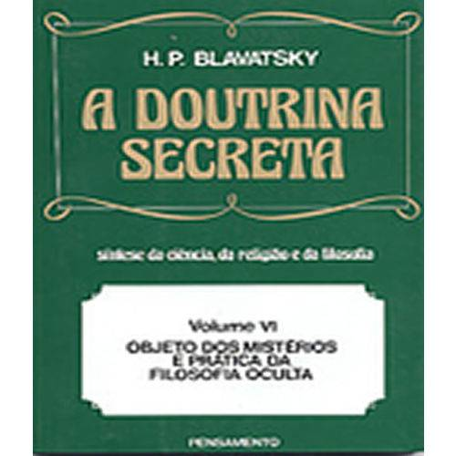 Doutrina Secreta, a - Vol Vi