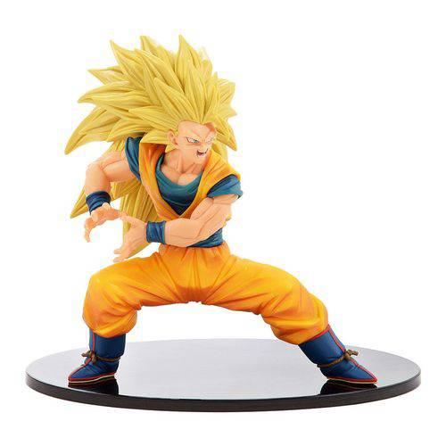 Dragon Ball Goku Super Saiyajin Saiyan 3 Colecionável 14cm