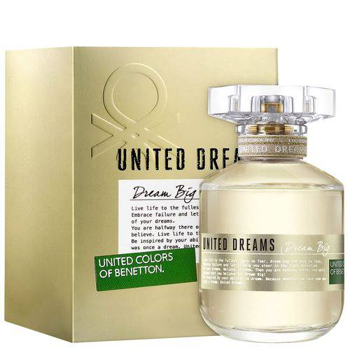 Dream Big Benetton Eau de Toilette - Perfume Feminino 50ml